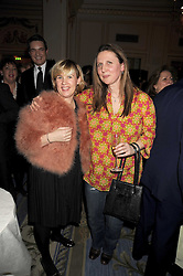 Left to right, leading chefs HELENE DARROZE and ANGELA HARTNETT at the 2009 Tatler Restaurant Awards in association with Champagne Louis Roederer held at the Mandarin Oriental Hyde Park, 66 Knightsbridge, London SW1 on 19th January 2009.