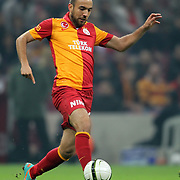 Galatasaray's Sercan Yildirim during their Turkey Cup matchday 4 soccer match Galatasaray between Balikesirspor at the AliSamiYen Spor Kompleksi TT Arena in Istanbul Turkey on Tuesday 27 November 2012. Photo by TURKPIX