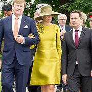 LUX/Luxemburg/20180523 - Staatsbezoek Luxemburg dag 1 , Koning Willem Alexander en Koningin Maxima