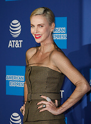 January 2, 2020, Palm Springs, California, USA: CHARLIZE THERON attends the 31st Annual Palm Springs International Film Festival Film Awards Gala at Palm Springs Convention Center. (Credit Image: © Imagespace via ZUMA Wire)