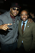 """l to r: LL Cool J and Kevin Liles at The Russell Simmons and Spike Lee  co-hosted """"I AM C.H.A.N.G.E!"""" Get out the Vote Party presented by The Source Magazine and The HipHop Summit Action Network held at Home on October 30, 2008 in New York City"""