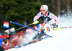 04.01.2013, Crveni Spust, Zagreb, AUT, FIS Ski Alpin Weltcup, Slalom, Damen, 1. Lauf, im Bild Christina Geiger (GER) // Christina Geiger of Germany in action // during 1st Run of the ladies Slalom of the FIS ski alpine world cup at Crveni Spust course in Zagreb, Croatia on 2013/01/04. EXPA Pictures © 2013, PhotoCredit: EXPA/ Pixsell/ Slavko Midzor..***** ATTENTION - for AUT, SLO, SUI, ITA, FRA only *****