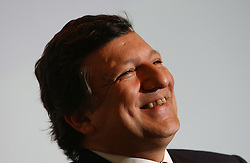 BRUSSELS, BELGIUM - MARCH-21-2005 - Jose Manuel Barroso , President of the European Commission, speaks during a press conference at the European Commission headquarters in Brussels, , about the European Councils decision to amend the stability pact, a set of laws that govern the monetary policy of the EU member states.  (PHOTO © JOCK FISTICK).