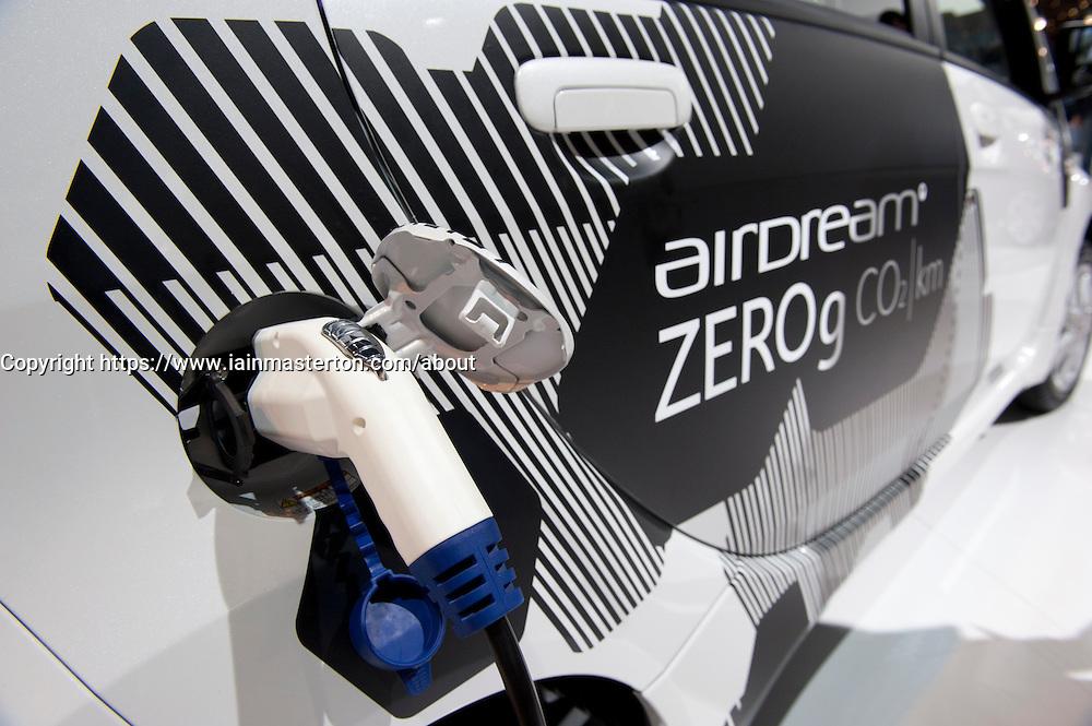 Citroen electric ION car at Paris Motor Show 2010