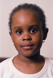 Portrait of young girl,