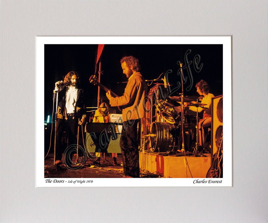 The Doors - (on stage - colour) MCP1210-CLMA-022