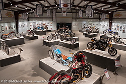 More Mettle - Motorcycles and Art That Never Quit exhibition in the Buffalo Chip Events Center Gallery during the Sturgis Motorcycle Rally. SD, USA. Thursday, August 12, 2021. Photography ©2021 Michael Lichter.