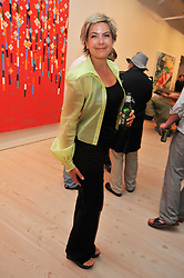 PENNY SMITH at an exhibition of photographic portraits by Bryan Adams entitled 'Hear The World' at The Saatchi Gallery, King's Road, London on 21st July 2009.