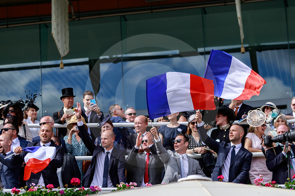 French Supporters at Royal Ascot 21/06/2019, photo: Zuzanna Lupa