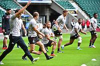 Matt GITEAU - 01.05.2015 - Captains' Run de Toulon avant la finale - European Rugby Champions Cup -Twickenham -Londres<br /> Photo : David Winter / Icon Sport