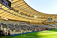 RIO DE JANEIRO, BRAZIL - JANUARY 30: Grandstand of Maracana Stadium ,during the final of Copa CONMEBOL Libertadores 2020 between SE Palmeiras and Santos FC at Maracana Stadium on January 30, 2021 in Rio de Janeiro, Brazil. (Photo by MB Media/BPA)