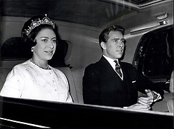 Nov. 03, 1964 - State opening of Parliament. Princess Margaret on way to House of Lords.: Photo shows H.R.H. Princess Margaret and husband Lord Snowdown seen when they left their Kensington home this morning for the State Opening of Parliament. (Credit Image: © Keystone Press Agency/Keystone USA via ZUMAPRESS.com)