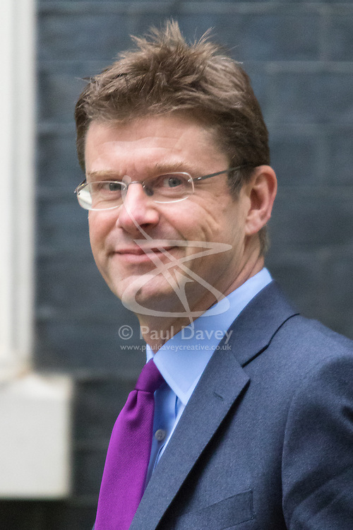Downing Street, London June 2nd 2015. Greg Clark <br /> Secretary of State for Communities and Local Government arrives at 10 Downing Street to attend the weekly Cabinet Meeting.