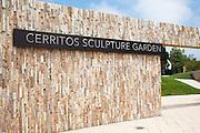 Entrance at Cerritos Sculpture Garden