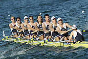 Munich, GERMANY, GBR M8X . Bow, Alex PARTRIDGE, Tom STALLARD, Matt LANGRIDGE, Tom SOLESBURY, Josh WESt, Rick EDINGTON, Robin BOURNE-TAYLOR stroke Colin SMITH, cox Acer NETHERCOTT.  At the start, during the FISA World Cup at the Munich Olympic Rowing Course, Thur's.  08.05.2008  [Mandatory Credit Peter Spurrier/ Intersport Images] Rowing Course, Olympic Regatta Rowing Course, Munich, GERMANY