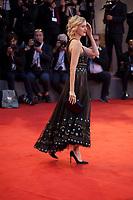 Naomi Watts at the premiere gala screening of the film Suspiria at the 75th Venice Film Festival, Sala Grande on Saturday 1st September 2018, Venice Lido, Italy.