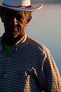 Ibiai_MG, Brasil...Retrato de um pescador do Rio Sao Francisco em Ibiai, Minas Gerais...A fisherman in Sao Francisco river in Ibiai, Minas Gerais...Foto: LEO DRUMOND /  NITRO