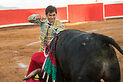 Bullfighter Francisco Martinez at the Plaza de Toros March 3, 2018 in San Miguel de Allende, Mexico.