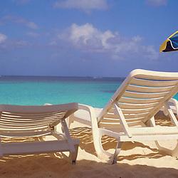 Beach Chairs in Anguilla, British West Indies