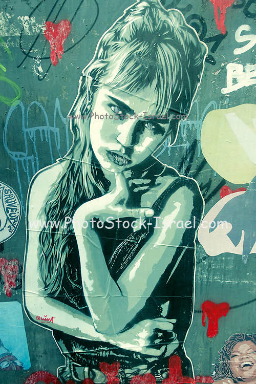 Eyes Wide Shut, Urban Graffiti in Florence, Italy