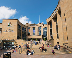 Entrance to the Glasgow Royal Concert Hall in Glasgow United Kingdom