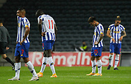 Porto players disappointed at full time during the Portuguese League (Liga NOS) match between FC Porto and Maritimo at Estadio do Dragao, Porto, Portugal on 3 October 2020.