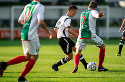 Tim Noltes of VV Maarssen in action. Friendly match against EDO and Maarssen lost the home match with 3-0 on 20 August 2020 in Maarssen.