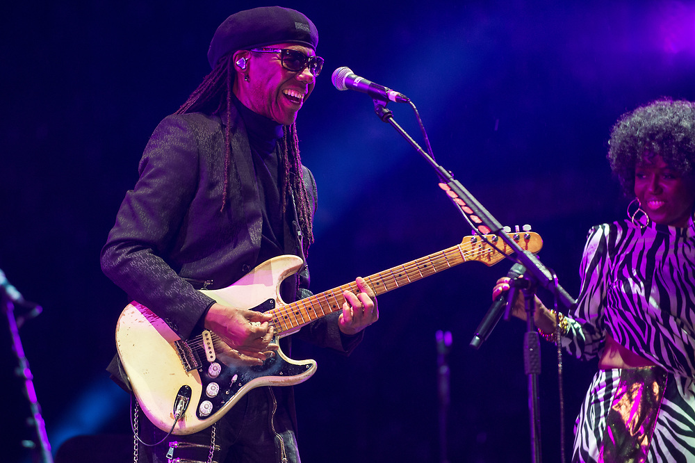 Nile Rogers and Chic at The Playground Festival  Rouken Glen Park, Glasgow, Scotland 26-09-21