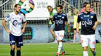 Fotball Tippeligaen 2015  05.07.2015<br /> Gamle Gress Marienlyst stadion Drammen<br /> <br /> Resultat 4 - 1<br /> <br /> Strømsgodset vs Viking<br /> <br /> Strømsgodset Gustav Mendonca Wikheim med 1 scoring<br /> <br /> <br /> Foto: Robert Christensen Digitalsport