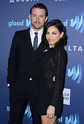 Channing Tatum and Jenna Dewan attend the 26th Annual GLAAD Media Awards at the Beverly Hilton Hotel on March 21, 2015 in Beverly Hills, Ca, USA. Photo by Lionel Hahn/ABACAPRESS.COM