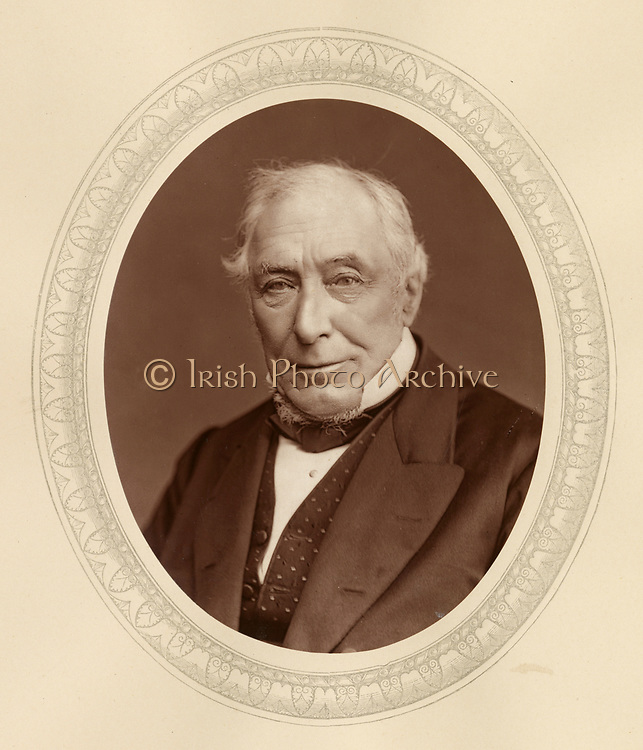 'John Mellor (1809-1887) c1880, English lawyer, appointed a judge on the Queen's Bench 1861, and was one of the judges at the famous long trial of Arthur Orton, the Tichborne claimant in 1873.'