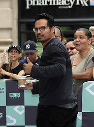 September 20, 2017 - New York, New York, United States - Michael Pena made an appearance at Build Series on September 20 2017 in New York City  (Credit Image: © Curtis Means/Ace Pictures via ZUMA Press)