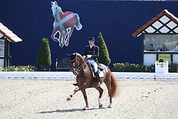 Faurie Emile, (GBR), Weekend Fun<br /> Qualification Grand Prix Special<br /> Horses & Dreams meets Denmark - Hagen 2016<br /> © Hippo Foto - Stefan Lafrentz
