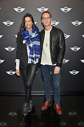 Monday 18th November 2013 saw a host of London hipsters, social faces and celebrities, gather together for the much-anticipated World Premiere of the brand new MINI.<br /> Attendees were among the very first in the world to see and experience the new MINI, exclusively revealed to guests during the party. Taking place in the iconic London venue of the Old Sorting Office, 21-31 New Oxford Street, London guests enjoyed a DJ set from Little Dragon, before enjoying an exciting live performance from British band Fenech-Soler.<br /> Picture Shows:-OLLIE PROUDLOCK, GRACE McGOVERN