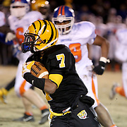 James Kenan's JaQuan Williams rushes against Whiteville. (Jason A. Frizzelle)