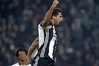 Esultanza Sami Khedira Juventus dopo gol 1-0, goal celebration,<br /> Torino 19-11-2016, Juventus Stadium, Football Calcio 2016/2017 Serie A, Juventus - Pescara, Foto Filippo Alfero/Insidefoto