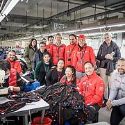 © Maria Muina I MAPFRE. Helly Hansen factory visit in Guangzhou. / Visita a la fábrica de Helly Hansen en Guangzhou.