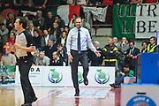 VARESE, 08 NOVEMBRE 2015<br /> BASKET, SERIE A <br /> VARESE-TORINO<br /> NELLA FOTO: Paolo Moretti<br /> FOTO CIAMILLO
