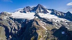 THEMENBILD - Stüdlhütte (2801m), Grossglockner (Glockner), höchster Berg Österreichs (3798m), Sommer, am Sonntag 04. August 2019, Kals am Großglockner, Nationalpark Hohe Tauern, Österreich // Stuedl hut on 2801meter sea level, Grossglockner (Glockner), highest mountain of Austria with 3.798 meter sea level, summer, on Sunday 04. August 2019, Kals am Grosglockner, Hohe Tauern National Park. EXPA Pictures © 2019, PhotoCredit: EXPA/ Johann Groder