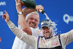 July 15, 2017 - New York, USA - Motorsports: FIA Formula E race 09/10 New York, .Richard Branson, #2 Sam Bird (DS Virgin Racing) (Credit Image: © Hoch Zwei via ZUMA Wire)