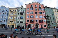 Movistar during the 2018 UCI Road World Championships, Men's Team Time Trial cycling race on September 23, 2018 in Innsbruck, Austria - Photo Dario Belingheri / BettiniPhoto / ProSportsImages / DPPI