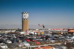 Fontana, CA/USA (Saturday, March 23, 2013) -  Parking Lot during practice at the Auto Club Speedway in Fontana, CA   PHOTO © Eduardo E. Silva/SILVEX.PHOTOSHELTER.COM.