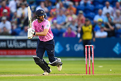 Dawid Malan of Middlesex in action<br /> <br /> Photographer Craig Thomas/Replay Images<br /> <br /> Vitality Blast T20 - Round 4 - Glamorgan v Middlesex - Friday 26th July 2019 - Sophia Gardens - Cardiff<br /> <br /> World Copyright © Replay Images . All rights reserved. info@replayimages.co.uk - http://replayimages.co.uk