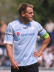 FODBOLD: Jeppe Christiansen (Helsingør) under kampen i Danmarksserien, pulje 1, mellem Elite 3000 Helsingør og Skovlunde IF den 6. juni 2010 på Helsingør Stadion. Foto: Claus Birch