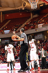 13 December 2015: Official Brad Ferrie. Illinois State Redbirds host the Murray State Racers at Redbird Arena in Normal Illinois (Photo by Alan Look)