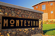MonteVina Winery, near Plymouth, Shenandoah Valley, Amador County, California