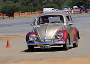 "Early model Volkswagen ""Beetle"". Caversham Historic Motoring Fair. Caversham, Perth, Western Australia.<br /> Sunday, 15th November 2009"