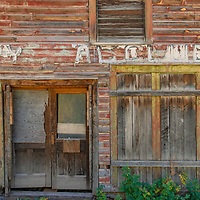 A few old buildings, some used as summer homes, are all that remains of Crystal, Colorado, once a mining town that housed 500 people.