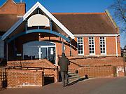 Woodbridge Library building, Suffolk, England