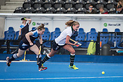 Clifton Robinsons v Surbiton - Women's 2nd XI Cup Final, Lee Valley Hockey & Tennis Centre, London, UK on 01 May 2017. Photo: Simon Parker